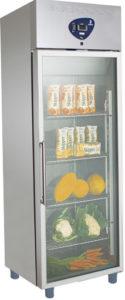 frigo professionale 400lt porta a vetro - professional glass door refrigerator 400lt