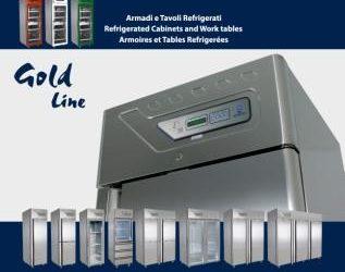 Gold line - Armadi e Tavoli refrigerati